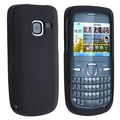 Insten® Silicone Skin Case For Nokia C3, Black