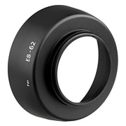 Insten® Replacement Round Lens Hood For 50 mm Canon ES-62, Black