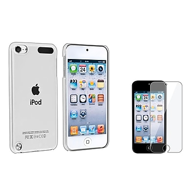 Insten 970930 4 Piece Case Bundle For Apple iPod Touch 5th Gen