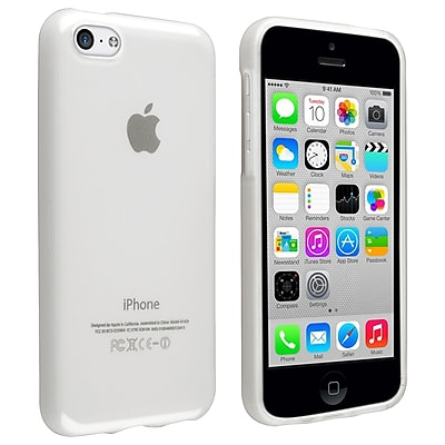 Insten TPU Rubber Case For Apple iPhone 5C Frost Clear