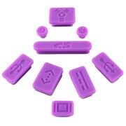 Insten® 9 Pieces Anti-Dust Silicone Plug Caps For Apple MacBook Pro
