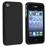 Insten® Silicone Skin Case For Apple iPhone 4/4S, Black
