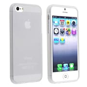 Insten® TPU Rubber Case For Apple iPhone 5/5S, Frost Clear White