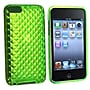 Insten® TPU Rubber Skin Case For iPod Touch