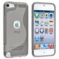Insten® TPU Rubber Case For iPod Touch 5th Gen, Clear Smoke S Shape