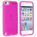 Insten® Silicone Skin Case For iPod Touch 5th Gen, Hot Pink