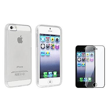 Insten® 933260 2 Piece Case Bundle For Apple iPhone 5/5S