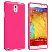 Insten® TPU Rubber Case For Samsung Galaxy Note III N9000, Hot Pink Jelly