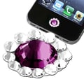 Insten® Home Button Sticker For Apple iPhone/iPad/iPod Touch, Purple Diamond