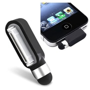 Insten® Universal Stylus With Dust Cap For iPhone, iPad, Black