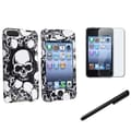 Insten® 535804 3 Piece Case Bundle For iPod Touch 2nd/3rd Gen