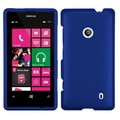 MYBAT™ Rubberized Phone Protector Case For Nokia Lumia 521, Titanium Solid Dark Blue