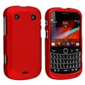 Insten® Rubber Coated Snap-in Case For BlackBerry Bold 9900/9930, Red