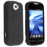 Insten® Rubber Coated Snap-in Case For HTC T-Mobile MyTouch 4G Slide, Black