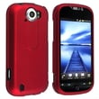 Insten® Rubber Coated Snap-in Case For HTC T-Mobile MyTouch 4G Slide, Red