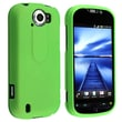 Insten® Rubber Coated Snap-in Case For HTC T-Mobile MyTouch 4G Slide, Green