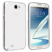 Insten® Hard Crystal Plastic Snap-in Case For Samsung Galaxy Note II N7100, Clear