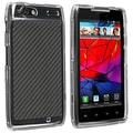 Insten® Snap-in Crystal Case For Motorola Droid Razr XT910/ XT912, Clear