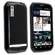 Insten® TPU Rubber Skin Case For Motorola Photon 4G MB855, Black