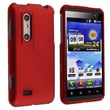 Insten® Hard Plastic With Rubber Coated Snap-in Case For LG Thrill 4G/Optimus 3D, Red