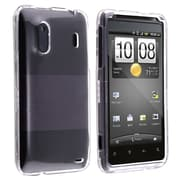 Insten® Snap-in Crystal Case For HTC EVO Design 4G, Clear