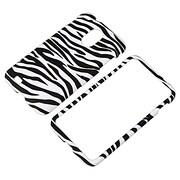 Insten® Plastic Snap-in Case For Samsung Epic 4G Touch SPH-D710, Black/White Zebra