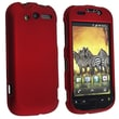 Insten® Rubber Coated Snap-in Case For HTC T-Mobile MyTouch 4G, Wine Red