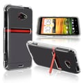 Insten® Hard Plastic Snap-in Crystal Case For HTC EVO 4G LTE, Clear