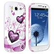 Insten® TPU Rubber Case For Samsung Galaxy S III/S3 i9300, Pink Heart