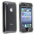 Insten® Snap-in Crystal Case For Apple iPhone 3G/3GS, Clear