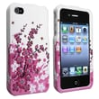 Insten® Plastic Snap-in Case For Apple iPhone 4/4S, Spring Flowers