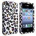 MYBAT™ Plastic Snap-in Case For Apple iPhone 4/4S, Colorful Leopard