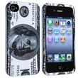Insten® Rubber Coated Snap-in Case For Apple iPhone 4/4S, Hundred Dollar