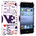 Insten® Hard Plastic Snap-in Case For iPod Touch 4th Gen, Lover