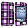 Insten® Rubber Coated Snap-in Case For iPod Touch
