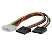 Insten® 4 Pin Molex Connecter To 2 SATA Power Splitter Cable