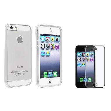 Insten® 933261 2 Piece Case Bundle For Apple iPhone 5/5S