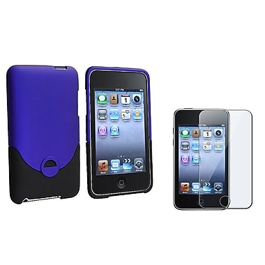 Insten® 268709 2 Piece Case Bundle For iPod Touch 2nd/3rd Gen