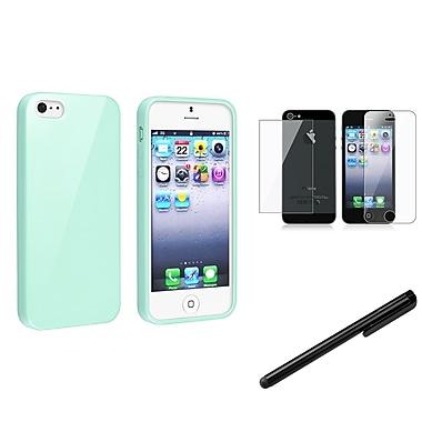 Insten® 1144639 3 Piece Case Bundle For Apple iPhone 5/5S