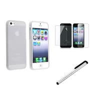 Insten® 1148173 3 Piece Case Bundle For Apple iPhone 5/5S