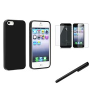 Insten® 1144655 3 Piece Case Bundle For Apple iPhone 5/5S