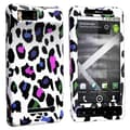 Insten® Snap-in Plastic Case For Motorola Droid X MB810, Colorful Leopard