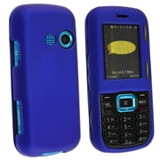 Insten® Hard Plastic With Rubber Coated Snap-in Case For LG Cosmos VN250, Dark Blue