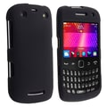 Insten® Rubber Coated Snap-in Case For RIM BlackBerry Curve 9350/9360/9370, Black