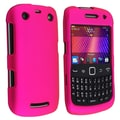 Insten® Rubber Coated Snap-in Case For BlackBerry 9350/9360/9370, Hot Pink