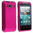 Insten® Rubber Coated Snap-in Case For HTC EVO Shift 4G, Hot Pink