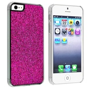 Insten® Hard Plastic Snap-in Case For Apple iPhone 5/5S, Hot Pink Bling