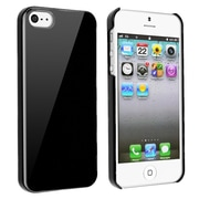 Insten® Hard Plastic Snap-in Case For Apple iPhone 5/5S, Black Ice Cream
