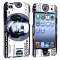 Insten® Rubber Coated Snap-in Case For iPod Touch 4th Gen, Hundred Dollar