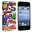 Insten® Hard Plastic Snap-in Case For iPod Touch 4th Gen, HAHA Rear